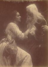Vivien and Merlin II, detail JULIA MARGARET CAMERON Vintage Photography Poster