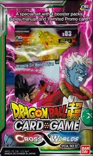 Dragonball Super Card Game Cross Worlds special pack set 4 packs English
