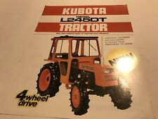 KUBOTA Diesel Tractor L245DT 1983 Original Sales Advertising Brochure