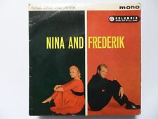 "NINA AND FREDERIK MAN MAN IS FOR WOMAN MADE +3   7"" E P VINYL"
