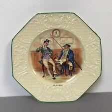 Charles Dickens Wedgwood Plate Mr. Micawber