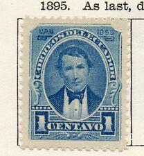 Ecuador 1895 antiguo problema fina con bisagras de menta 1c. 090385