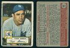 (38082) 1952 Topps 191 Yogi Berra Yankees-GD