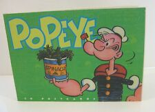 Popeye 30 postcards Book Ec Segar 1997 King Features Pc Post Cards Character