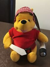 Winnie the Pooh Pirate soft toy - Part of a collection. Brand new with tags
