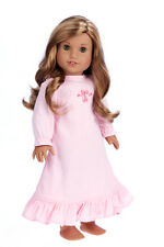 Sweet Dreams - 18 inch American Girl Doll Clothes - Pink Nightgown