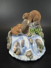 Spieluhr Biber Music Box Beaver,12 cm Poly Modell,Neuteil