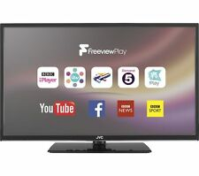 "JVC 32"" SMART LED TV + FREEVIEW HD & PLAY + lettore usb + Netflix 2x HDMI * Nero *"