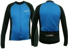 Funkier Gents Long Sleeve Cycling Jerseys Blue Large RRP £39.99
