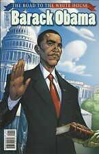 President Barack Obama Road to the White House comic issue 1