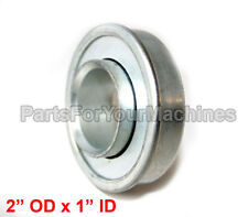"""One Flange Ball Bearing, 2""""Od x 1""""Id, Closed, Fit, Bobcat # 148042, Lawnmowers.1"""