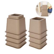 "8pc(4*3""+4*5"") Furniture Raisers Adjustable Bed Chair Sofa Riser Feet Lift Set"