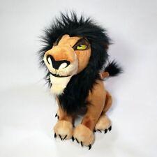 "New Disney Store The Lion King Scar 13"" Plush Stuffed Toy"