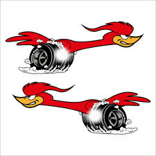 Racing Kult Set Speedbird Aufkleber Sticker OEM JDM Tuning Auto Motorrad Retro