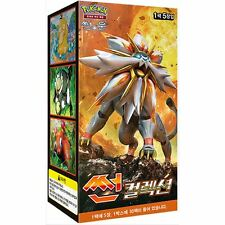 "Booster Pokémon ""Sun & Moon"" - (SUN) - Coréen"