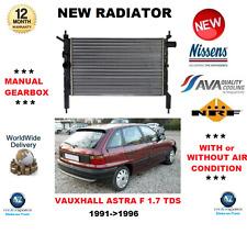 PER OPEL ASTRA F 1.7 TDS 1991- > 1996 NUOVO motore radiatore Qualità OE