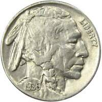 1936 5c Indian Head Buffalo Nickel US Coin XF EF Extremely Fine