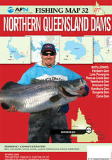Nothern Queensland Dams afn fishing map new latest edition New, Freepost  worldw