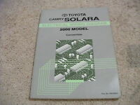 2000 Toyota CAMRY SOLARA Convertible Electrical Wiring Diagram Service Manual