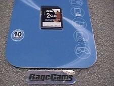 2GB SD CARD 2 GB SECURE DATA CARD NEW 2 GIG for GARMIN 465U & Older Cameras