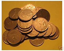 7 pièces de 5 francs  1986  et 1993  Baudouin