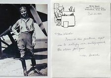 Melba Gorby Beard Aviation Pioneer Won 1935 Amelia Earhart Trophy Signed Letter