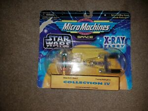 Star wars Micro Machines X-Ray Fleet Slave 1,Y-Wing sealed unopened