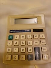 Texas Instruments Ti-1795+ Calculator Solar Powered Tested Works Well