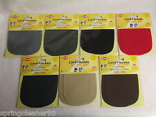 KLEIBER ~ CORD PATCHES ~ IRON or SEW ON  ~ KNEE, ELBOW, NEW & SEALED HANDICRAFTS