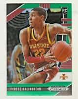 2020-21 Panini Prizm Draft GREEN PRIZM #10 TYRESE HALIBURTON RC Rookie Kings