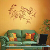 ik1837 Wall Decal Sticker bird tree twig bedroom living room