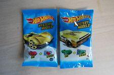 2- 2015/2016 Hot Wheels GOLD CHASE 63 Corvette Stingray+Bye Focal II MYSTERY bag