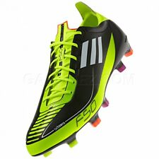 MENS adidas F50 adizero Prime FG Black Yellow G42168 Soccer Cleats Size 12.5 US