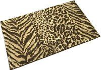 Allure Supersoft Absorbent 100% Cotton Animal Skin Jacquard Bath Mat 50 x 80cm