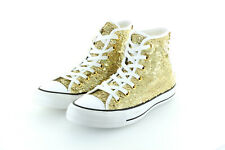 Converse All Star Chuck Taylor Hi Holiday Party Gold Glitter Gr. 37,5 / 38,5