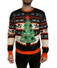 Star Wars Empire Ugly Christmas Sweater Tree Mens S At-At Tie Fighter Death Star