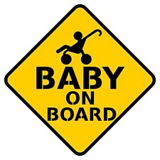 "5"" X 5"" Baby on board Car Sticker Decal Vinyl"