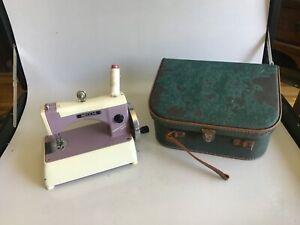 Vintage Necchi Sewing Machine - Supernova Julia - Italy - W/Case