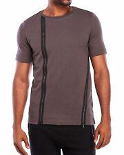 NWT $146 PUNK ROYAL Short Sleeve Layered Zip Sweatshirt Size L