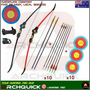 Archery 20LBS Youth Bow Junior Recurve Bow Arrows Set Kids Basic Pack R/L Hand