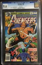 AVENGERS #180 CGC 9.6 TOM DEFALCO JIM MOONEY 1979 WHITE PAGES
