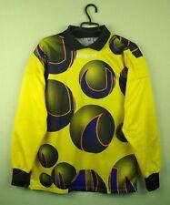Uhlsport jersey shirt 1990 vintage rare Goalkeeper football soccer long sleeve L