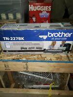A6~OPEN BOX/SEALED BAG~Brother TN-227BK Genuine High-Yield Black Toner Cartridge
