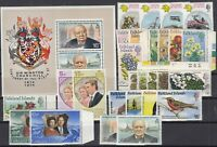 X2158/ BRITISH FALKLAND – 1972 / 1974 MINT MNH MODERN LOT – CV 160 $