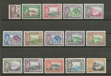 More details for dominica 1938 sg 99/109a  mint cat £75