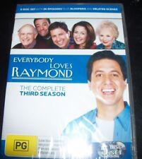 Everybody Loves Raymond The Complete Third Season 3 (Australia Region 4) DVD NEW