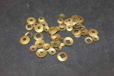Clock repair parts 50 brass collets