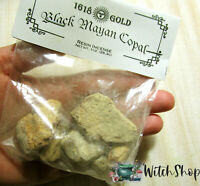 BLACK MAYAN COPAL RESIN INCENSE 1oz Wicca Witch Pagan Shaman Spells Supplies
