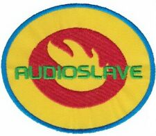 "AUDIOSLAVE Sew On Iron On Embroidered Patch 3/""x3/"""