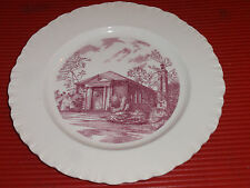 Vintage Wedgwood Porcelain Plate Memorial Chapel/ King College 10 Inches